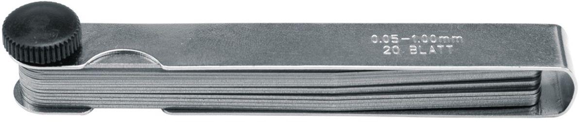 Щупы автомобильные Vorel, 0,05-1,0 мм, 13 шт15130Щупы автомобильные Vorel, размеры 0,05-1,0 мм 13шт.
