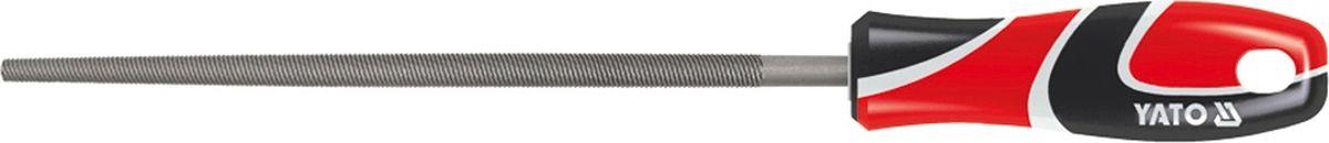 Напильник по металлу Yato, круглый, 200 ммYT-6189Напильник по металлу YATO круглый, длина 200 мм, двухкомпонентная ручка.