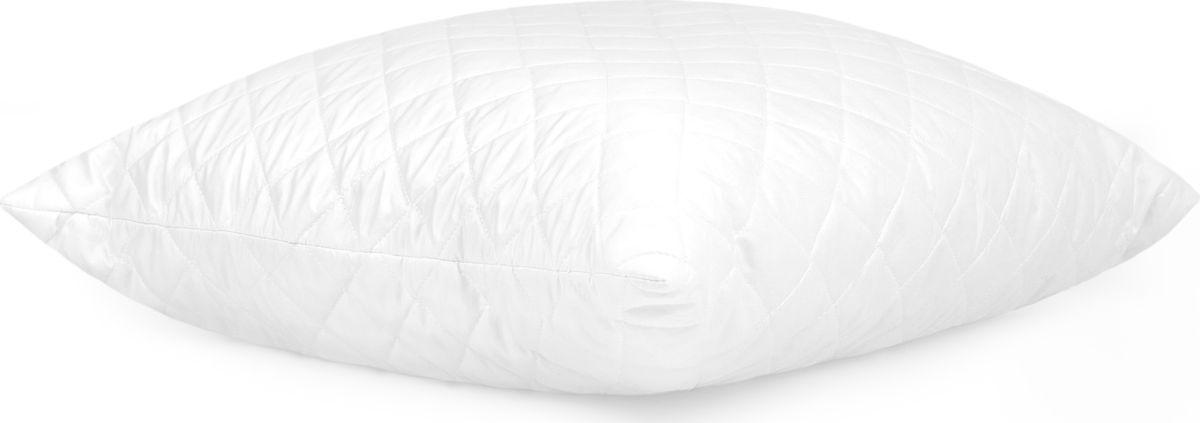 Подушка Classic by Togas Zen Tencel, наполнитель: полиэфирное волокно, 70 х 70 см20.05.18.0042Подушка Classic by Togas Zen Tencel - это удивительный комфорт и актуальный стиль. Чехол подушки выполнен из тенселя (58%) с добавлением полиэстера (42%). Наполнитель - 100% полиэфирное волокно. Подушка имеет классическую квадратную форму и изысканный внешний вид, а фигурная стежка не позволяет наполнителю скатываться. Тенсель - инновационный, самый совершенный на сегодняшний день материал: он имеет натуральное происхождение, поэтому считается экологически чистым. Волокно производится из натуральной древесины эвкалипта и в дальнейшем скручивается в пряжу. Ткань, изготовленная из этой пряжи, обладает достоинствами как натуральных, так и искусственных волокон: она мягкая, как шелк, прохладная, как лен, теплая, как шерсть. Тенсель прочнее других волокон, поэтому подушки с таким чехлом прослужат вам очень долго, они не деформируются и сохраняют полезные свойства долгие годы. Благодаря хорошему теплообмену и способности быстро впитывать влагу тенсель охлаждает в жару и...