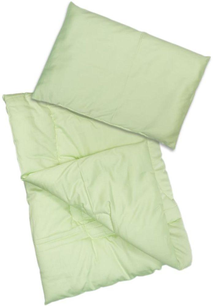 Сонный гномик Комплект в кроватку Алоэ Вера 2 предмета цвет светло-зеленый 065