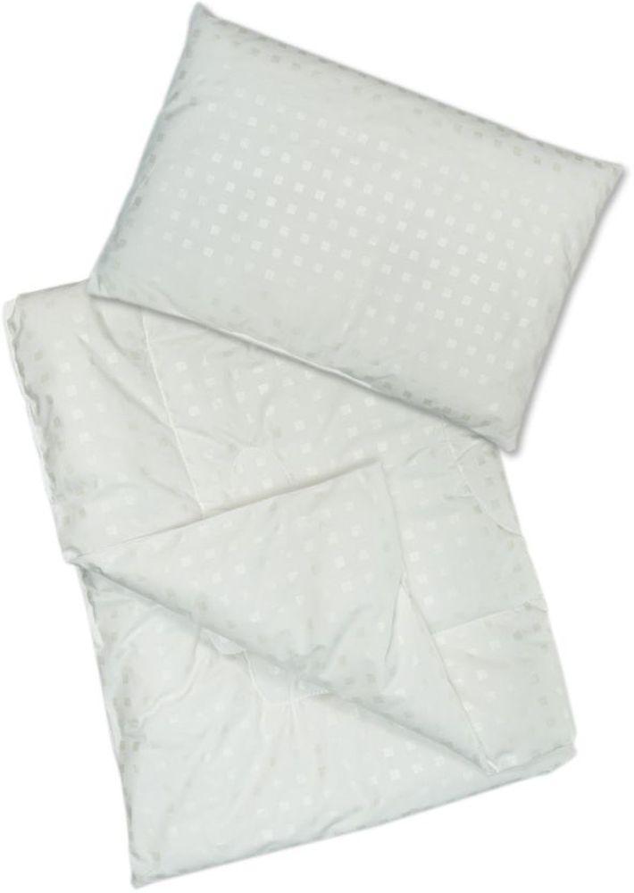Сонный гномик Комплект в кроватку Эвкалипт 2 предмета цвет белый