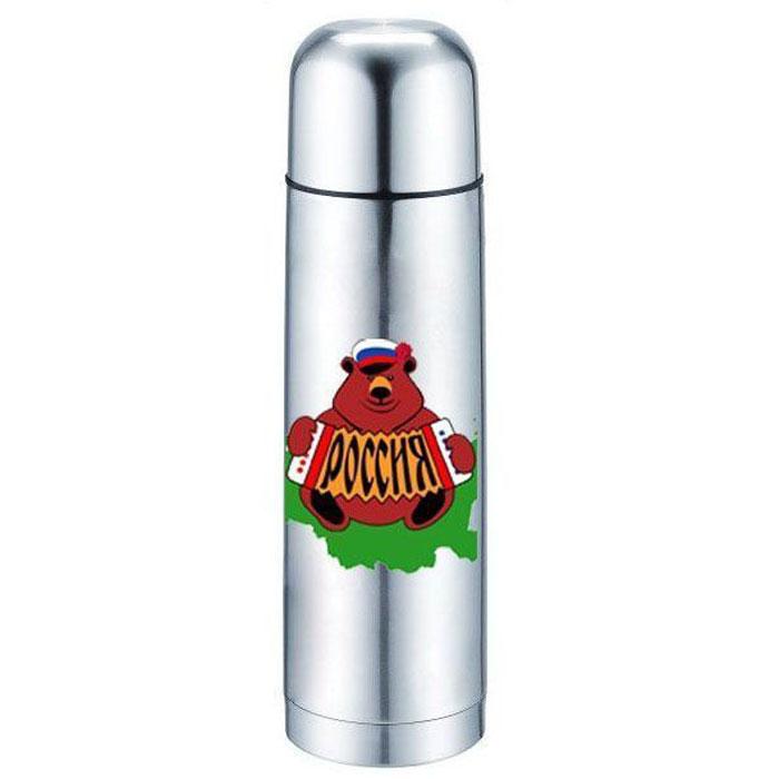 Термос Bekker, 1 л. BK-4116115510Объем 1л, вакуумная кнопка, двойные стенки с вакуумом, крышка-чашка. Состав: нержавеющая сталь 18/8.
