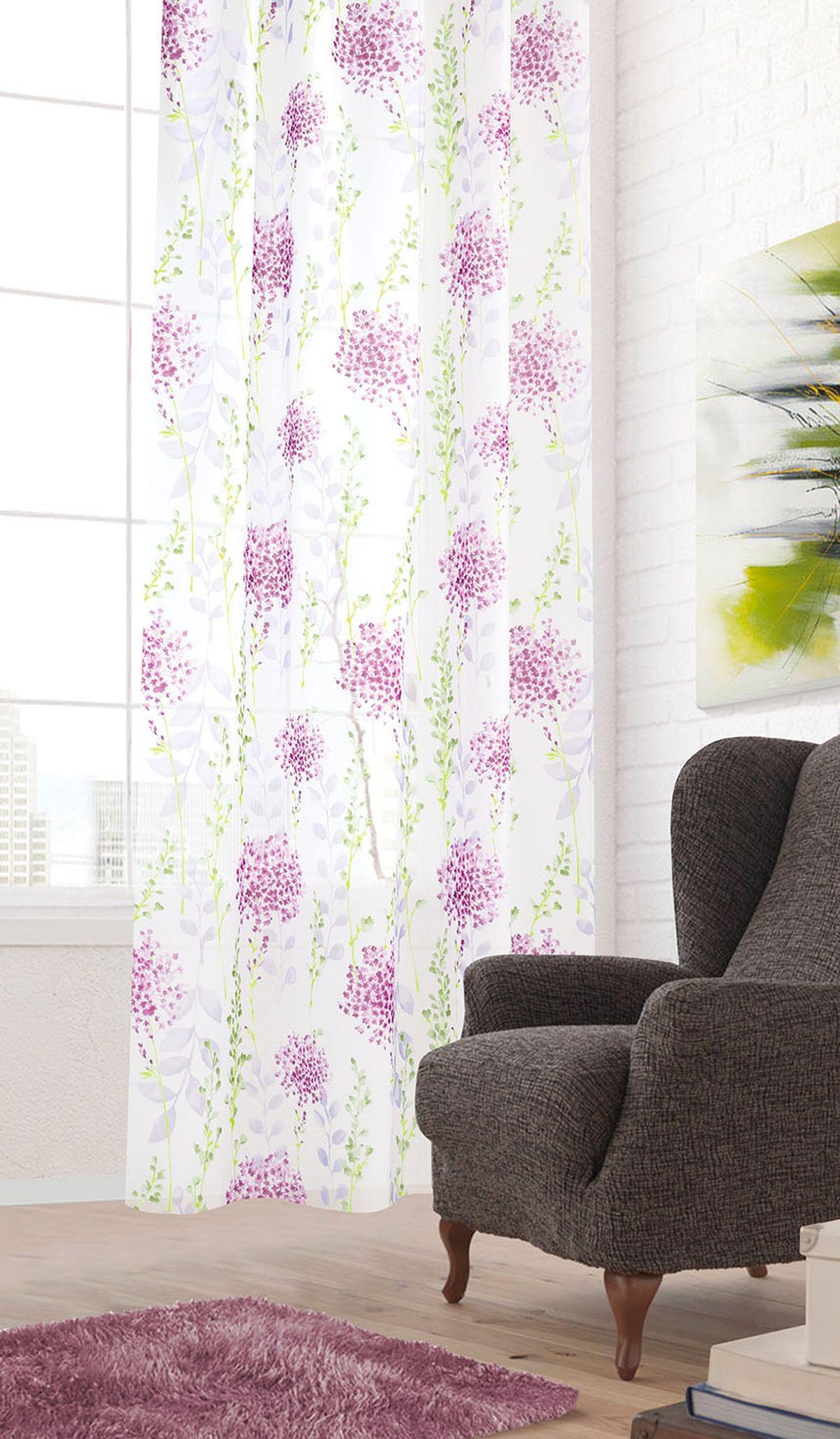 Штора готовая Garden, на ленте, цвет: белый, 300х260 см. С 5395 - W356 V33С 5395 - W356 V33Тюлевая штора для гостиной Garden выполнена из легкой ткани, станет великолепным украшением любого окна. Воздушная ткань с оригинальным рисунком создаст неповторимую атмосферу в вашем доме. Штора крепится на карниз при помощи ленты, которая поможет красиво и равномерно задрапировать верх.