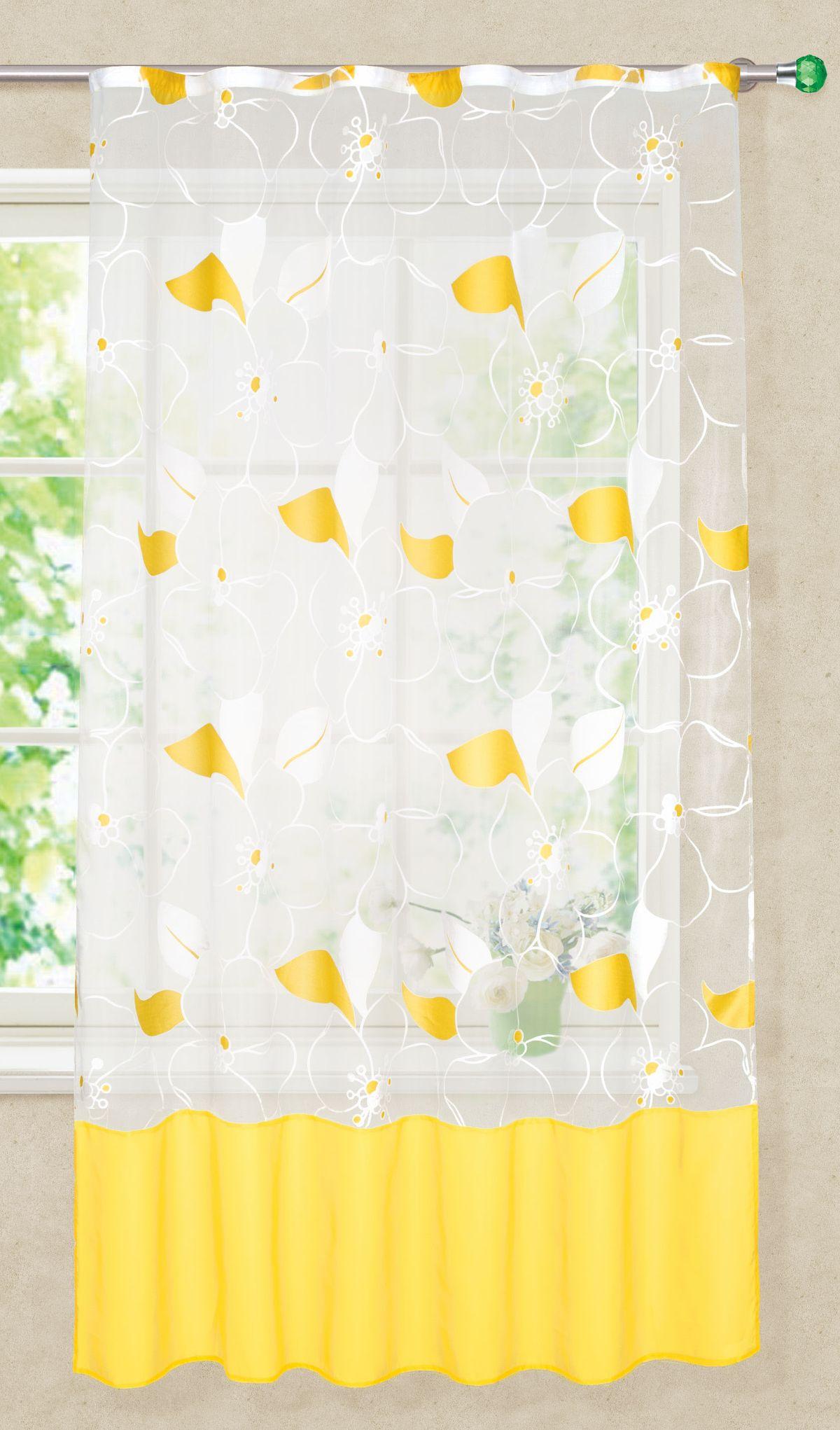 Штора готовая Garden, на ленте, для кухни, цвет: белый, 145х180 см. С 8136 - W260 V19С 8136 - W260 V19Изящная штора для кухни Garden выполнена из легкой ткани. Приятная текстура и цвет штор привлекут к себе внимание и органично впишутся в интерьер помещения. Штора крепится на карниз при помощи ленты, которая поможет красиво и равномерно задрапировать верх.