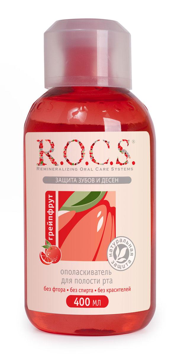 R.O.C.S. Ополаскиватель для полости рта Грейпфрут, 400 млHX3292/28Активная реминерализация. Снижение кровоточивости десен. Уменьшение воспаления. Ранозаживляющее действие. Придание свежести дыханию.