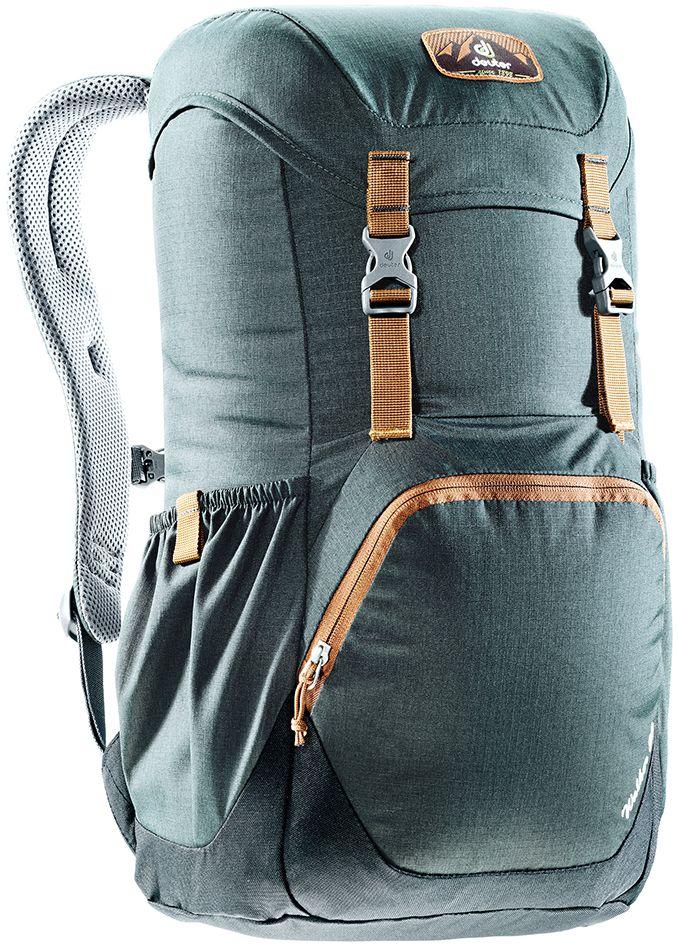 Рюкзак Deuter Walker 20, цвет: серый, черный, 20 лBP-001 BKКомпактный, спортивный рюкзак идеально подходит для людей, предпочитающих пешие прогулки. Система подвески AirComfort с великолепной вентиляцией и легкие материалы в конструкции делают рюкзак настолько удобными, что вы забудете, что у вас за спиной рюкзак.Особенности: Спинка Airstripes для великолепной вентиляции; Очень комфортные, эргономичные, с мягкими краями плечевые лямки; Отделение для документов; Карабин для ключей; Боковые карманы с эластичным, растягивающимся краем; Большой накладной карман на молнии с органайзером для мобильного телефона, кошелька и т.д. ; Сменный, в ретро-стиле, съемный поясной ремень; Внутренний карман для ценных вещей (Walker 16 & 20). Размер рюкзака: 48 х 28 х 21.