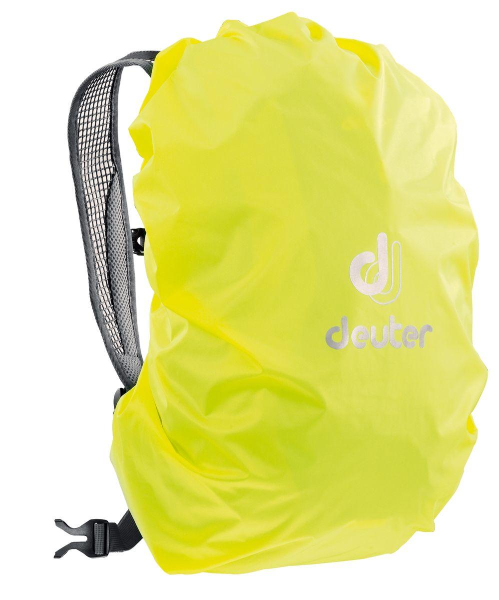 Чехол от дождя Deuter Raincover Mini, цвет: желтый, 12-22 л39500_8008Чехлы от дождя ярких неоновых цветов гарантируют, что ваш рюкзак и его содержимое останется сухим даже после проливного дождя. Отличная влагозащита благодаря полиуретановому покрытию и швам, проклеенным лентой. Материал: Taffeta-Nylon Вес: 65 г Объем: 12-22 л Размеры: 48 x 42 x 12 (H x W x D) см