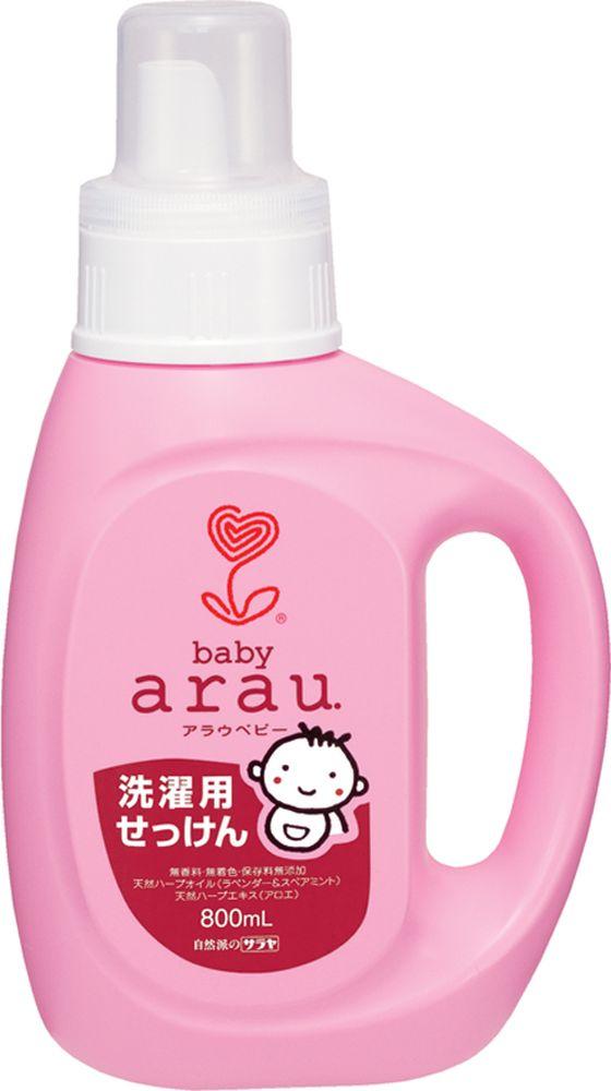 Arau Baby Жидкость для стирки детской одежды 800 млYASH62712Жидкость для стирки создана на основе 100% натуральных компонентов – натурального мыла, полученного из кокосового масла, с добавлением экстрактов лаванды и мяты. Благодаря уникальной натуральной формуле жидкость для стирки эффективно удаляет загрязнения, делает белье мягким и приятным на ощупь. Не содержит синтетических ПАВов, ароматизаторов, красителей и консервантов. Подходит для всех типов тканей. Товар сертифицирован.