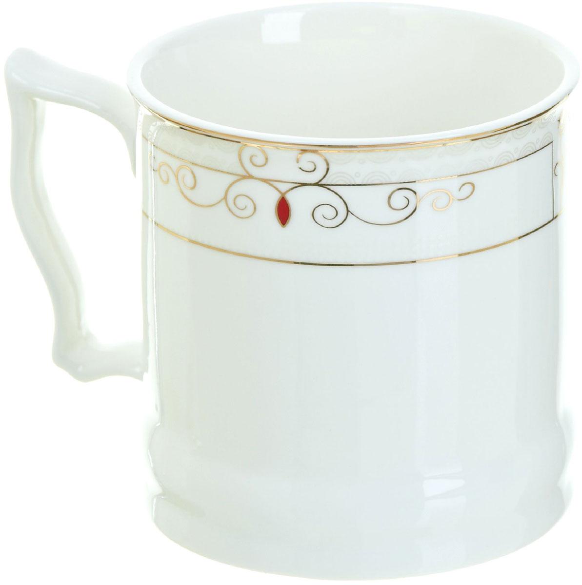 Кружка BHP Королевская кружка, 500 мл. 1870003115610Оригинальная кружка Best Home Porcelain, выполненная из высококачественного фарфора, сочетает в себе простой, утонченный дизайн с максимальной функциональностью. Оригинальность оформления придутся по вкусу тем, кто ценит индивидуальность.Можно использовать в посудомоечной машине.