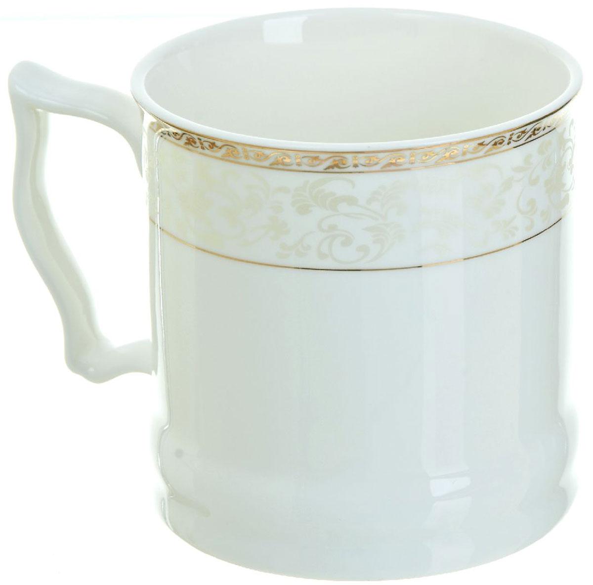 Кружка BHP Королевская кружка, 500 мл. 1870004115610Оригинальная кружка Best Home Porcelain, выполненная из высококачественного фарфора, сочетает в себе простой, утонченный дизайн с максимальной функциональностью. Оригинальность оформления придутся по вкусу тем, кто ценит индивидуальность.Можно использовать в посудомоечной машине.