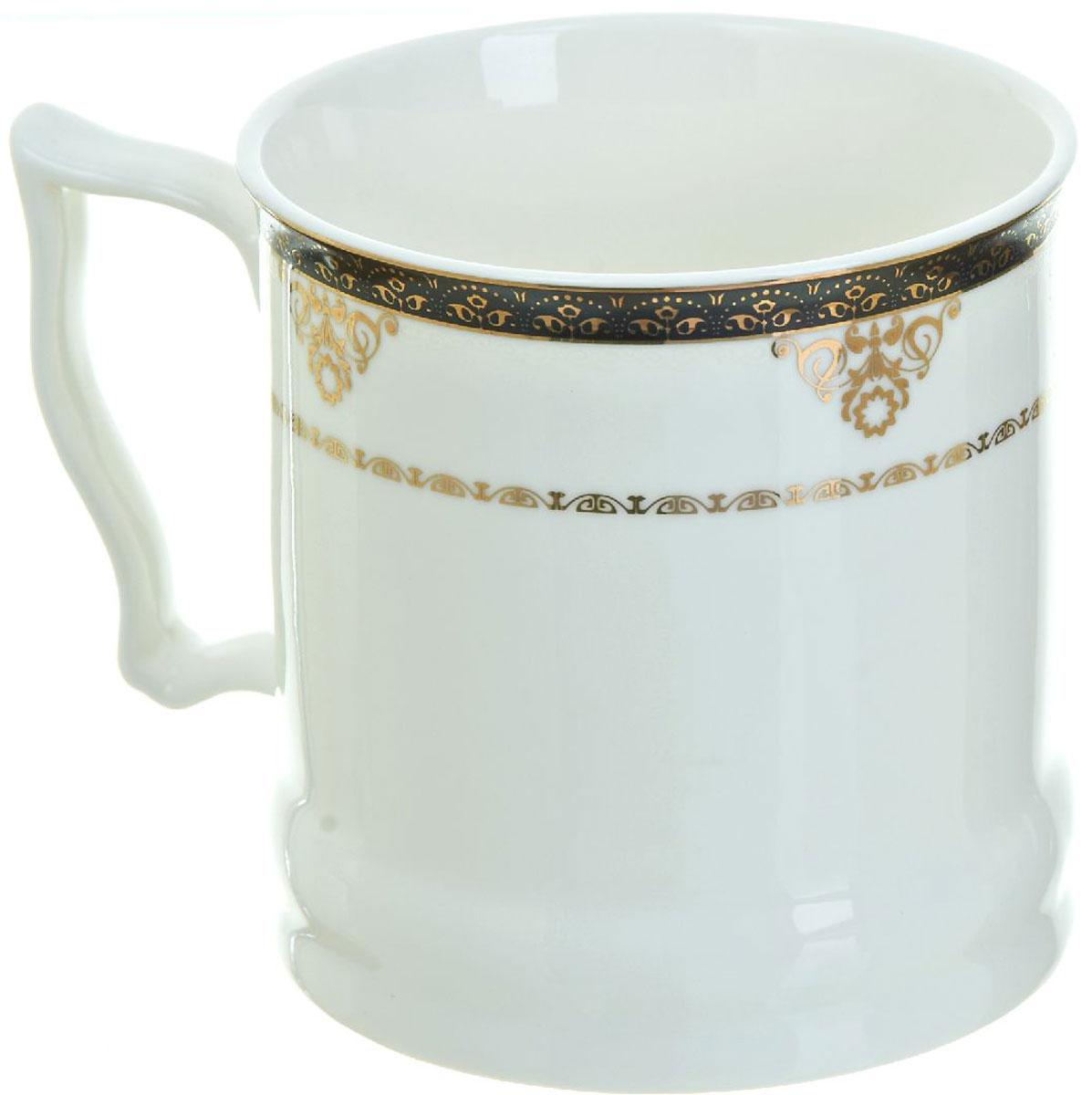 Кружка BHP Королевская кружка, 500 мл. 1870007115510Оригинальная кружка Best Home Porcelain, выполненная из высококачественного фарфора, сочетает в себе простой, утонченный дизайн с максимальной функциональностью. Оригинальность оформления придутся по вкусу тем, кто ценит индивидуальность.Можно использовать в посудомоечной машине.