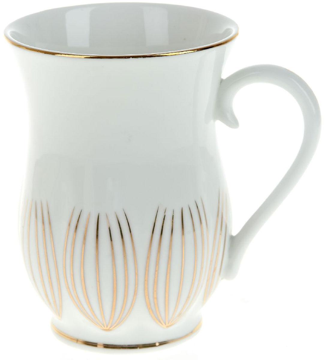 Кружка BHP Грация, 400 млM1490113Оригинальная кружка Best Home Porcelain, выполненная из высококачественного фарфора, сочетает в себе простой, утонченный дизайн с максимальной функциональностью. Оригинальность оформления придутся по вкусу тем, кто ценит индивидуальность. В комплект входит кружка. Можно использовать в ПММ.