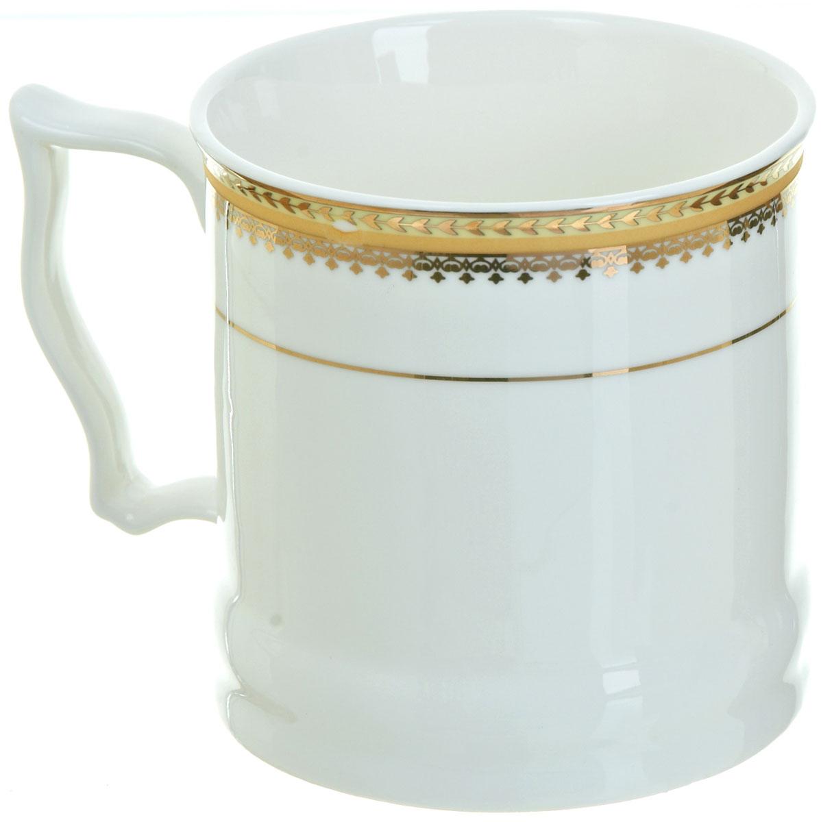 Кружка BHP Королевская кружка, 500 мл. M1870009115510Оригинальная кружка Best Home Porcelain, выполненная из высококачественного фарфора, сочетает в себе простой, утонченный дизайн с максимальной функциональностью. Оригинальность оформления придутся по вкусу тем, кто ценит индивидуальность.Можно использовать в посудомоечной машине.