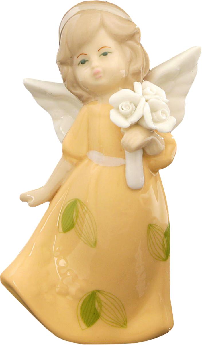 Сувенир пасхальный Sima-land Ангел в платье с листочками, 10,8 х 4,5 х 6,5 см1533472Сувенир Ангел в платье с листочками — сувенир в полном смысле этого слова. И главная его задача — хранить воспоминание о месте, где вы побывали, или о том человеке, который подарил данный предмет. Преподнесите эту вещь своему другу, и она станет достойным украшением его дома.