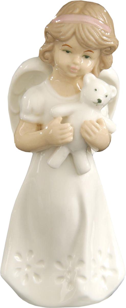 Сувенир пасхальный Sima-land Ангел с мишуткой, 12 х 6 х 4 см1533474Сувенир Ангел с мишуткой — сувенир в полном смысле этого слова. И главная его задача — хранить воспоминание о месте, где вы побывали, или о том человеке, который подарил данный предмет. Преподнесите эту вещь своему другу, и она станет достойным украшением его дома.