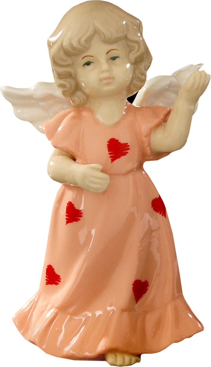 Сувенир пасхальный Sima-land Ангел в платьице в сердечках, 13 х 8 х 6 см1533480Сувенир Ангел в платьице в сердечках — сувенир в полном смысле этого слова. И главная его задача — хранить воспоминание о месте, где вы побывали, или о том человеке, который подарил данный предмет. Преподнесите эту вещь своему другу, и она станет достойным украшением его дома.