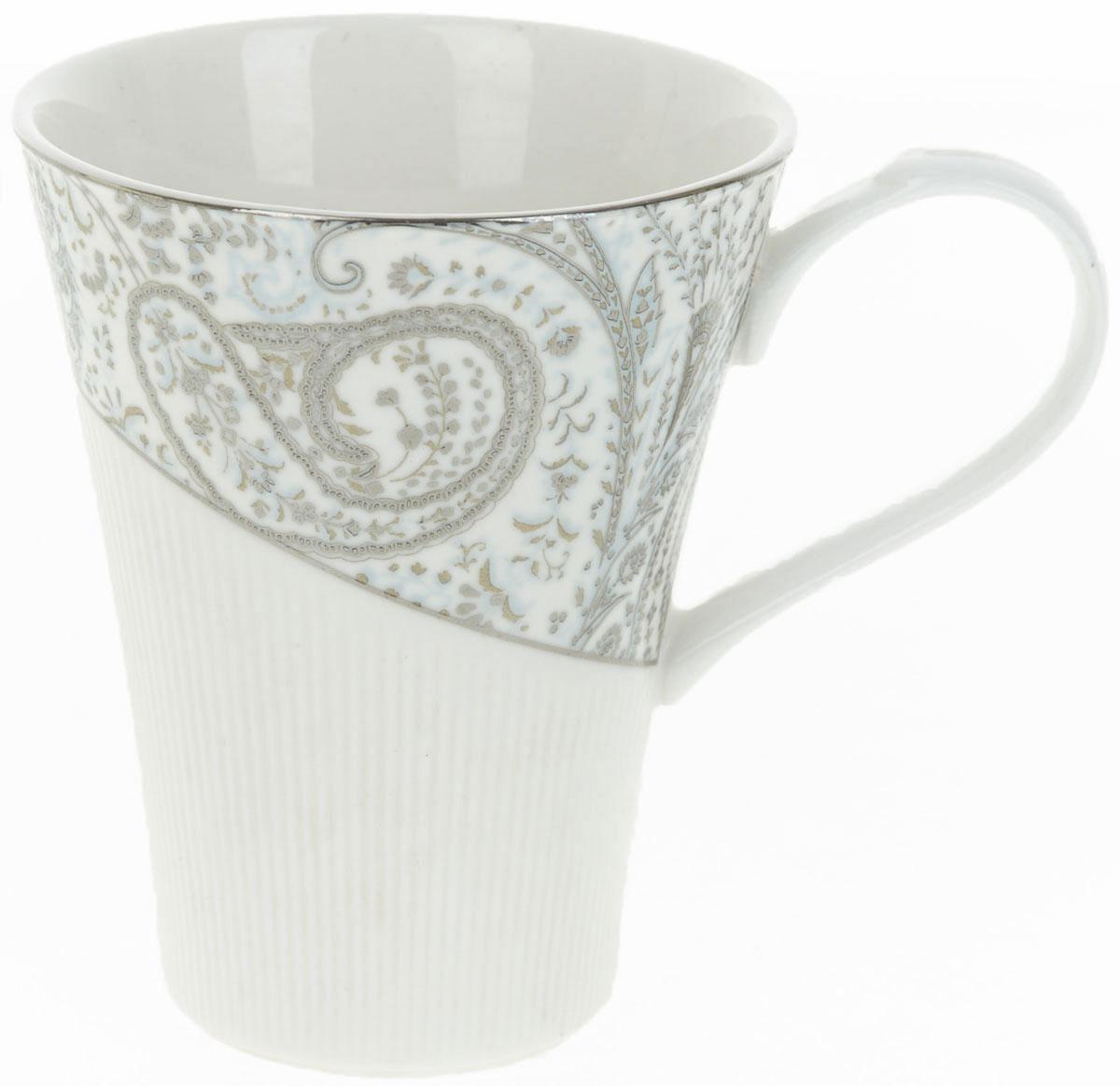 Кружка BHP Вавилон, 370 мл115610Оригинальная кружка Best Home Porcelain, выполненная из высококачественного фарфора, сочетает в себе простой, утонченный дизайн с максимальной функциональностью. Оригинальность оформления придутся по вкусу тем, кто ценит индивидуальность.Можно использовать в посудомоечной машине.