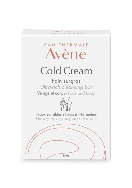 Avene Сверхпитательное мыло Cold-cream для лица и тела 100 гC05482Ежедневное очищение чувствительной кожи лица и тела. • для раздраженной и реактивной сухой кожи. • для кожи, не переносящей классические очищающие средства • для чувствительной кожи младенцев, детей, взрослых и пожилых людей. Мыло сочетает в себе сверхпитательные и смягчающие свойства колд-крема и смягчающие, сниамющие раздражение кожи свойства Термальной воды Avene. Бережно очищает и питает самую чувствительную кожу. Новая формула прекрасно переносится, поддерживает естественный уровень рН кожи и обеспечивает густую, мягкую пену с приятным ароматом. Кожа вновь становится мягкой и эластичной. Возвращается ощущение комфорта.