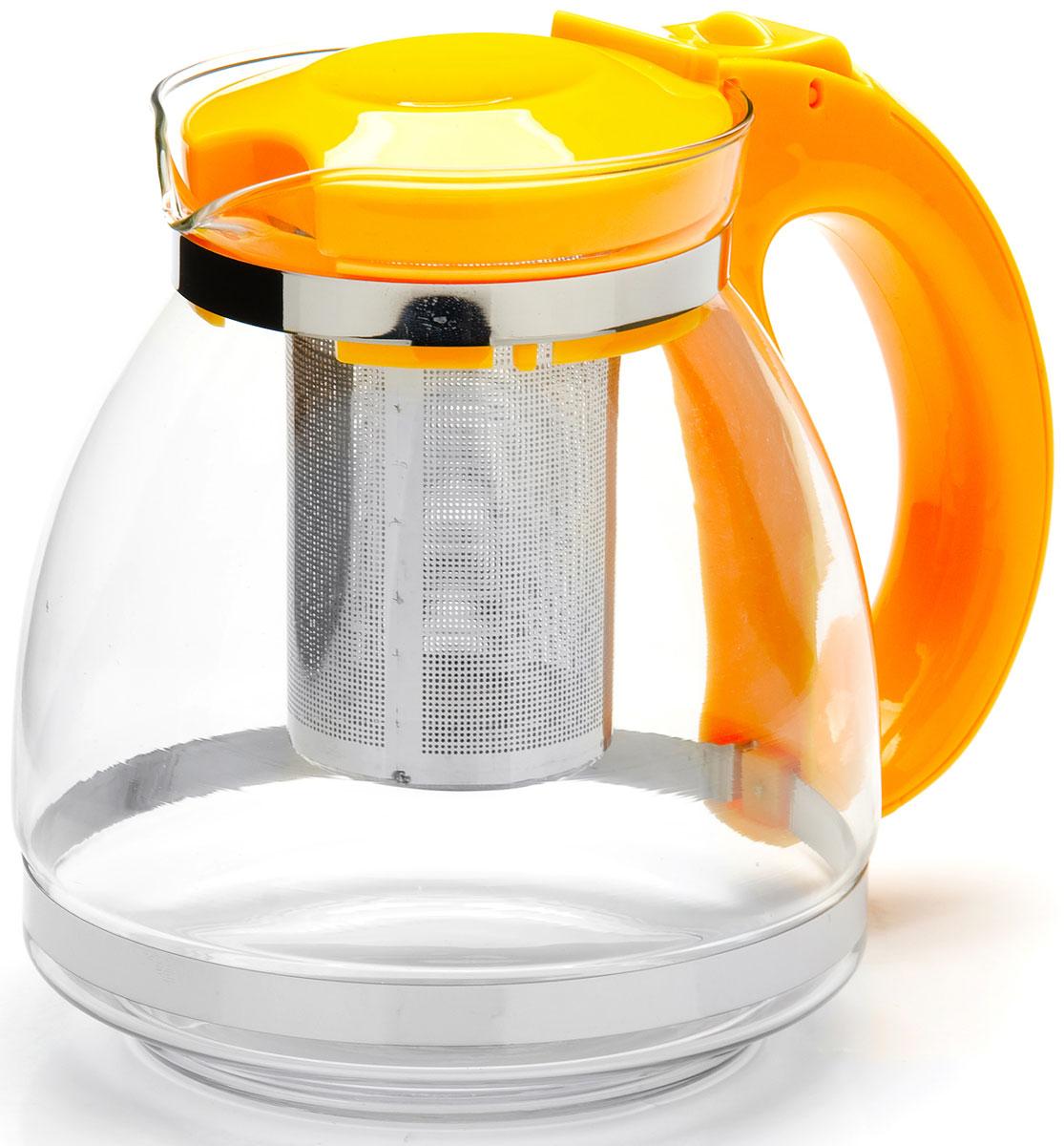 Чайник заварочный Mayer & Boch, с фильтром, 1,5 л. 26170-226170-2