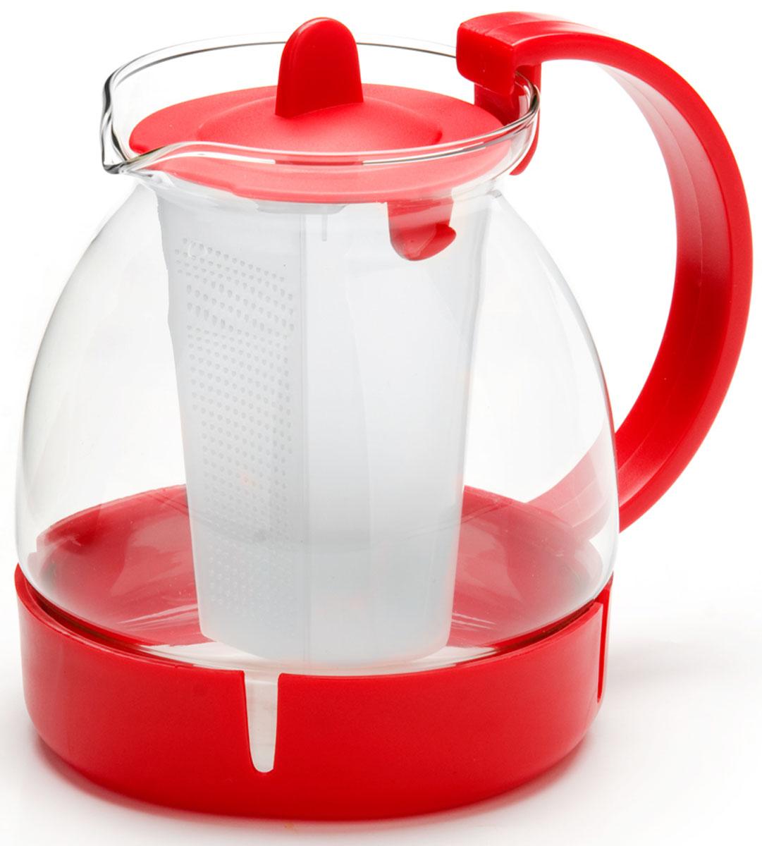 Чайник заварочный Mayer & Boch, с фильтром, 1,25 л. 26171-126171-1