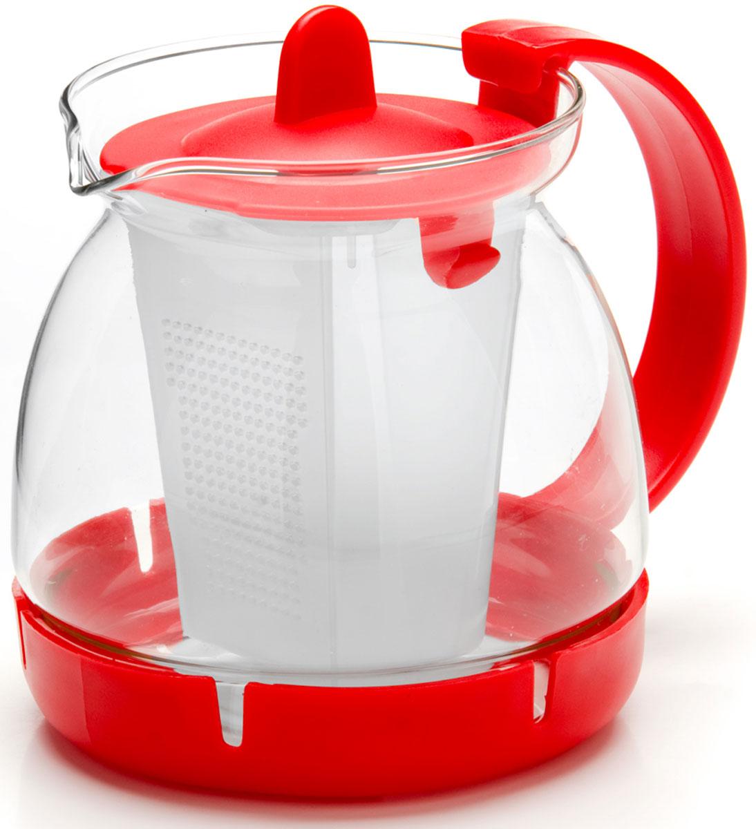 Чайник заварочный Mayer & Boch, с фильтром, 0,8 л. 26175-126175-1