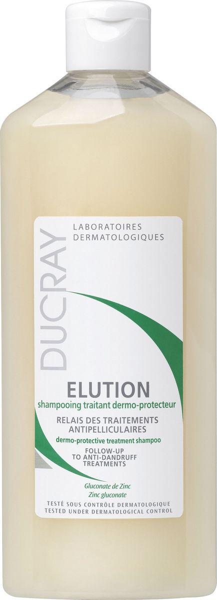 Ducray Шампунь Elution для чувствительной кожи головы частое применение, 300 млC06566Во время или в результате лечения от перхоти, кожа головы становится более чувствительной. Оздоравливающий шампунь Elution мягко очищает кожу головы и уменьшает риск повторного появления перхоти благодаря специальной мягкой очищающей основе в сочетании с успокаивающими активными компонентами. Основные компоненты: чтобы успокоить и защитить чувствительную кожу головы lерматологические лаборатории Ducray разработали дермозащитный шампунь Elution, который содержит ГЛЮКОНАТ ЦИНКА и МЯГКУЮ МОЮЩУЮ ОСНОВУ, благодаря которой сохраняется естественный баланс кожи волосистой части головы.