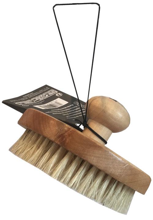 Balnais круглая массажная щетка с натуральной щетиной200485Щетка с натуральной щетиной для эффективного и нежного массажа и отшелушивания