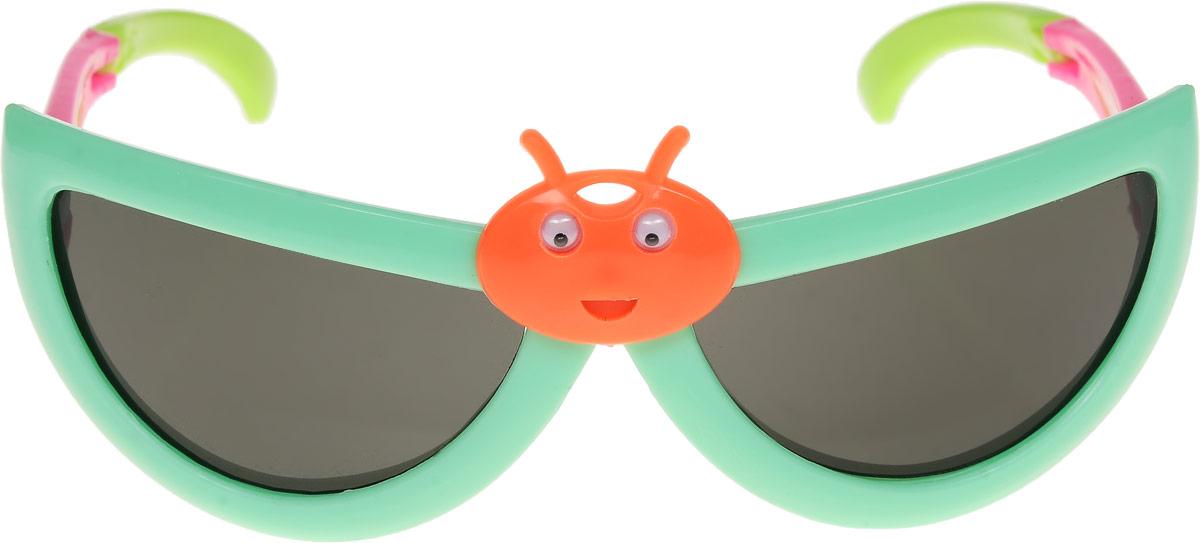 Очки солнцезащитные детские Vittorio Richi, цвет: зеленый. ОСбожьякоровка/17fBM8434-58AEОчки солнцезащитные Vittorio Richi это знаменитое итальянское качество и традиционно изысканный дизайн.