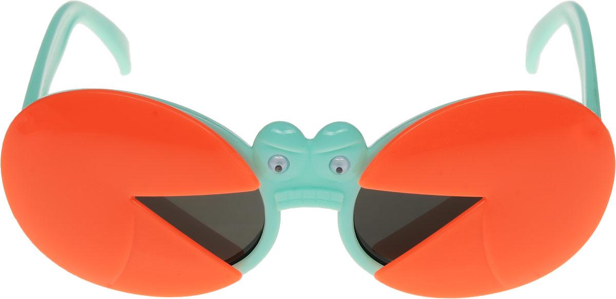 Очки солнцезащитные детские Vittorio Richi, цвет: оранжевый, зеленый. ОСкраб-/17fINT-06501Очки солнцезащитные Vittorio Richi это знаменитое итальянское качество и традиционно изысканный дизайн.
