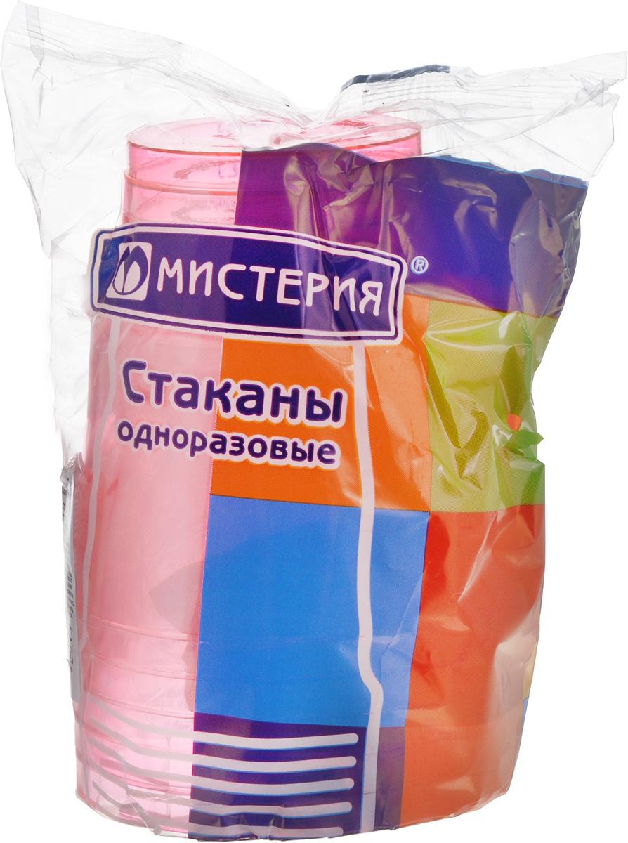 Набор одноразовых стаканов Мистерия Кристалл, цвет: розовый, 200 мл, 6 шт181000_розовыйНабор Мистерия Кристалл состоит из 6 стаканов, выполненных из полистирола и предназначенных для одноразового использования. Одноразовые стаканы будут незаменимы при поездках на природу, пикниках и других мероприятиях. Они не займут много места, легки и самое главное - после использования их не надо мыть. Диаметр стакана (по верхнему краю): 7,5 см. Высота стакана: 8 см. Объем: 200 мл.