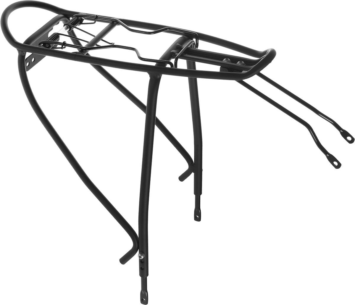 Багажник велосипедный Stern. CCAR-2NCCAR-2N.Велосипедный багажник Stern выполнен из высококачественного металла. Крепится изделие под седло. Предназначен багажник для моделей с размером колес 24-28. Подходит для перевозки грузов до 25 кг. В комплект входят крепления. Размер багажника: 39,5 х 22,5 х 41 см.