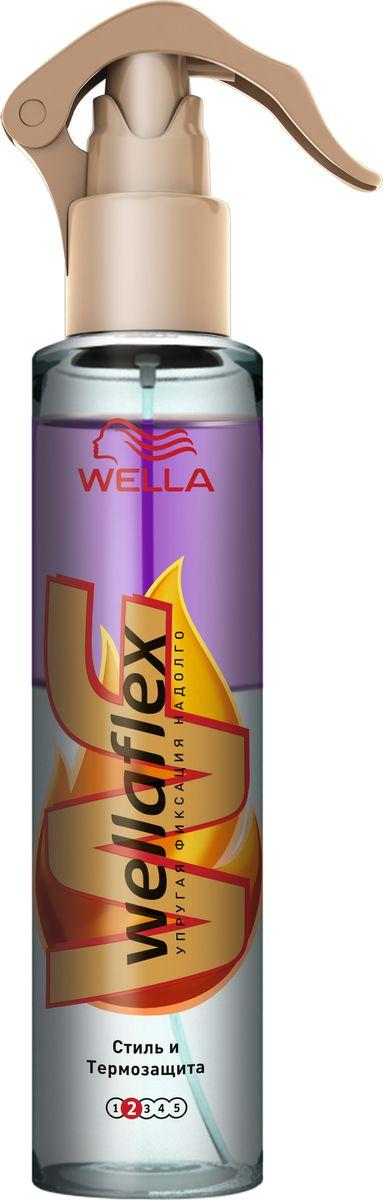 Wellaflex Cпрей Стиль и Термозащита 150 млWF-81582212Инновационный спрей «Стиль и термозащита» позволяет больше не искать компромиссов между безупречной прической и сияющим здоровьем волос. У спрея двухфазная структура: непрозрачная фаза помогает защитить волосы от нагревания до 230 градусов, а прозрачная – надежно фиксирует укладку. В основе коллекции лежит инновационная технология Thermoflex, которая защищает волосы от повреждений при нагревании до 230 градусов. На поверхности каждого волоса создается защитный слой, благодаря которому они не пересушиваются под воздействием высоких температур. Саша Бройер рекомендует спрей Wellaflex «Стиль и термозащита» для создания самых жарких трендов сезона: «Я всегда строго придерживаюсь принципа «Не навреди» в собственной интерпретации. В работе мне необходимы средства для волос, которые не разрушают их структуру при нагревании, такие, как спрей Wellaflex «Стиль и термозащита». С ним я могу дать волю фантазии и быть уверенным, что результат моей работы будет выглядеть идеально в течение долгого...