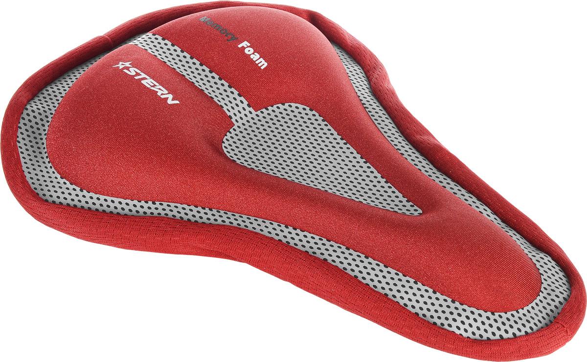 """Чехол для седла велосипеда """"Stern"""", цвет: красный, серый SAD-CAS-R"""