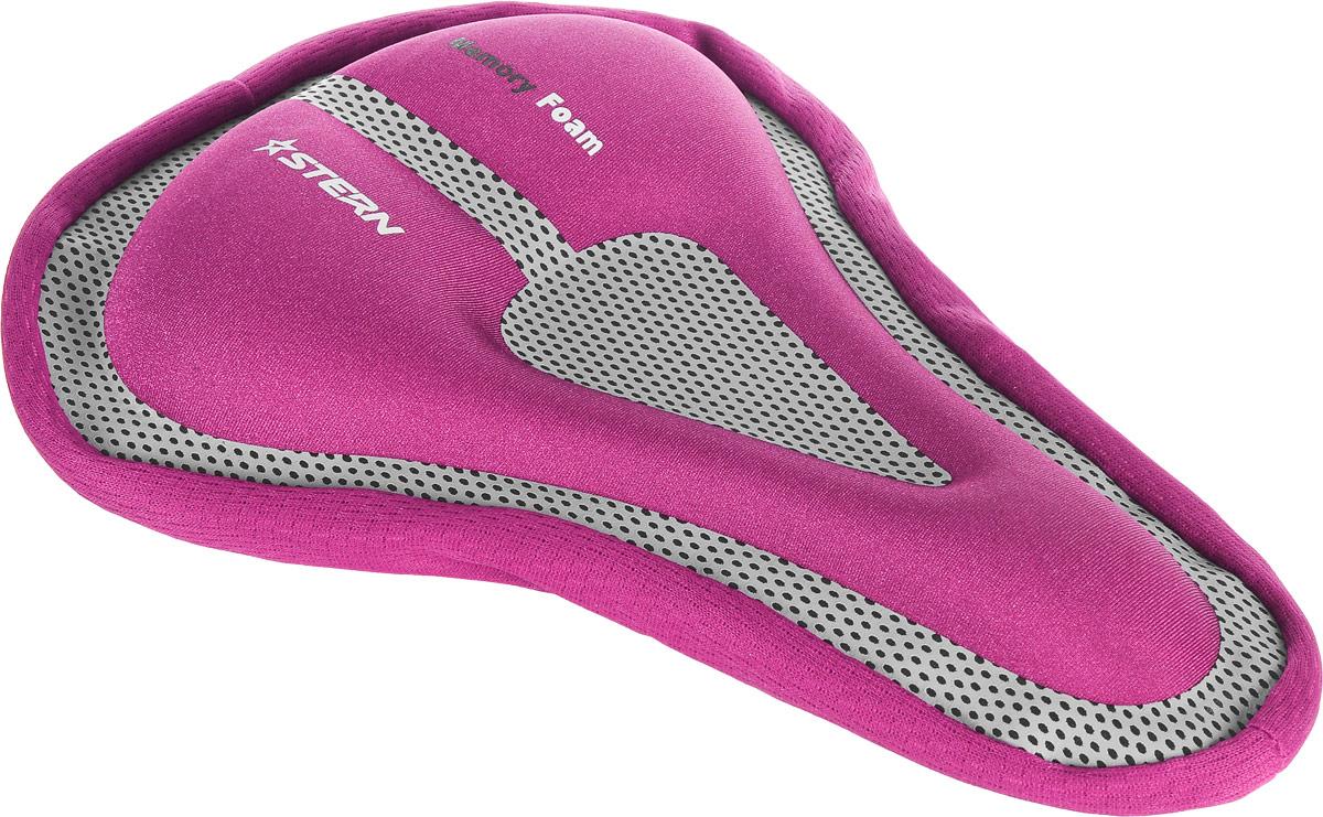 """Чехол для седла велосипеда """"Stern"""", цвет: розовый, серый SAD-CAS-P"""