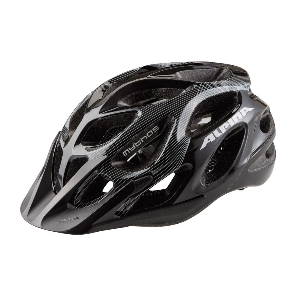 Шлем летний Alpina Mythos 2.0, цвет: белый, черный. A9672120. Размер 59/64A9672120Топовый велошлем Alpina Mythos 2.0 обеспечивает наилучшую защиту и комфорт. Абсолютный бестселлер Mythos 2.0 в новом дизайне. Матовое верхнее покрытие Ceramic Shell и покрытая мягкой резиной система регулировки. 25-вентиляционных отверстий. Технологии: Run System Ergo Pro, Ceramic Shell, Shield Protect. Вес: 250 г. Легкий и аэродинамический дизайн Углубленная затылочная часть Улучшенная система вентиляционных отверстий Защитная сетка в передней части Новый тип соединения внутренней части шлема и оболочки maxSHELL Поворотный механизм Quick Save для регулировки и подгонки шлема по размеру Ременная застежка-букля с возможностью быстрой подгонки ремешков Съемный козырек Конструкция: In-Mould Technology Светоотражающие элементы.