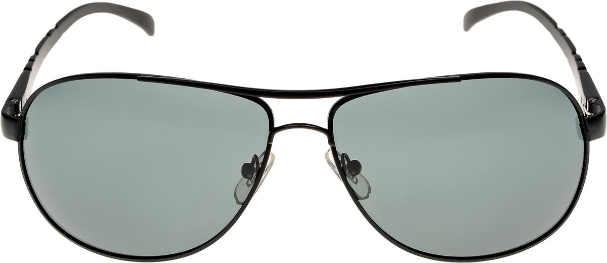 Очки солнцезащитные мужские Vittorio Richi, цвет: черный. ОС80057-8/17fFM-883-JSKОчки солнцезащитные Vittorio Richi это знаменитое итальянское качество и традиционно изысканный дизайн.