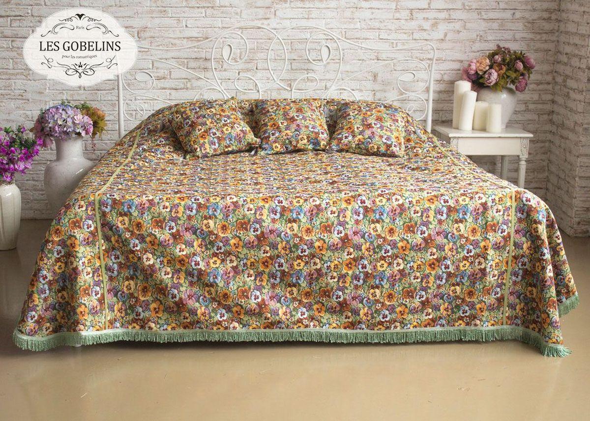 """Покрывало на кровать Les Gobelins """"Fleurs De Jardin"""", 260х240 см. lns183996"""