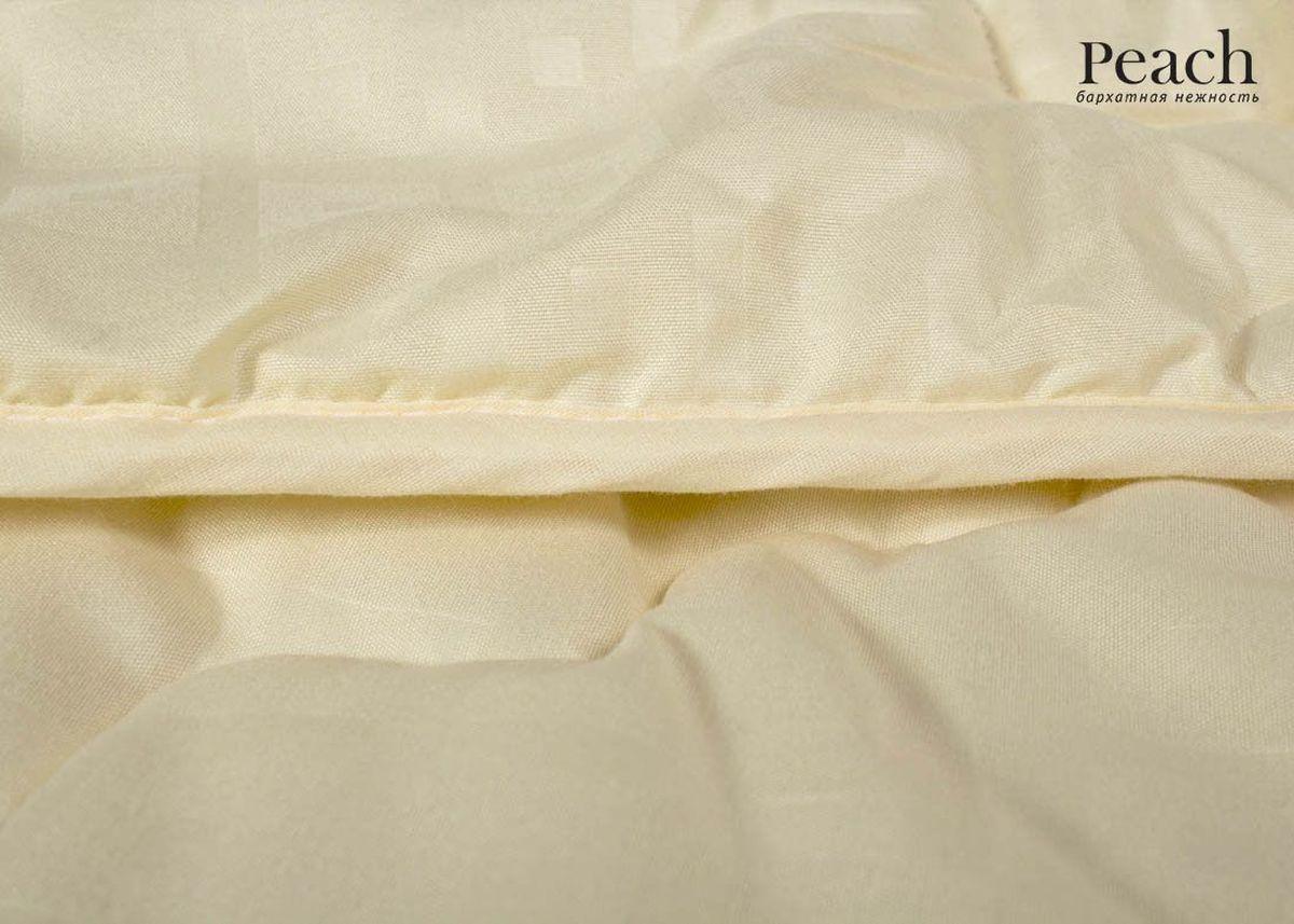 Одеяло Peach, из овечьей шерсти легкое, 172х205 смpch222654Одеяло стеганое легкое двуспальное (мал) Размер: 172х205 см Наполнитель: Шерсть овечья Плотность наполнителя: 200 гр/м2 Состав: Шерсть овечья, Лебяжий пух Материал чехла: Микрофибра (PeachSOFT) Состав: 100% Полиэстер Отделка: Кант Производитель: Peach Страна производства: Россия Тип Упаковки: Чемодан ПВХ Цвет чехла может отличаться от представленного на фотографии.