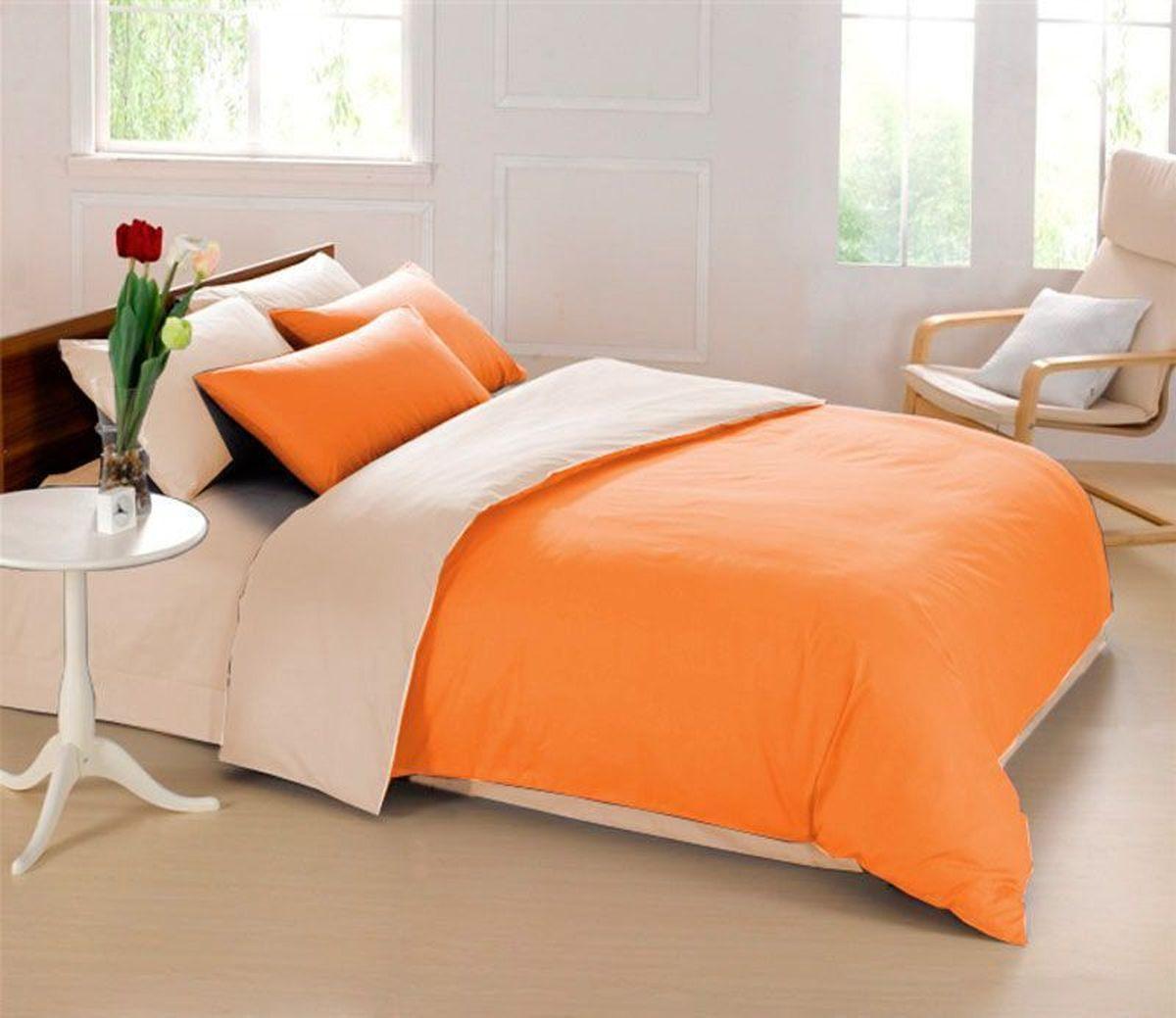 Постельное белье Sleep iX Perfection, семейный, цвет: оранжевый, бежевыйpva215421Известно, что цвет напрямую воздействует на психологическое и физическое состояние человека. Специально для наших покупателей мы внесли описание воздействия каждого цвета в комплекты постельного белья Perfection. Оранжевый – вызывает ощущение теплоты, бодрости, веселья, создает хорошее настроение. Оранжевый омолаживает, возбуждает аппетит, способствует оптимистическому настрою и гармонии с окружающей средой. Бежевый – обладает внутренней теплотой, заряжает положительной энергетикой и способствует формированию душевной гармонии. Человек ощущает себя в окружении бежевого цвета очень спокойно. Производитель: Sleep iX Материал: Микрофреш (100 г/м2) Состав материала: 100% микрофибра Размер: Семейное (2 пододеял.) Размер пододеяльника: 150х220 см Тип застежки на пододеяльнике: Молния (100 см) Размер простыни: 220х240 (обычная) Размер наволочек: 50х70 и 70х70 (по 2 шт) Тип застежки на наволочках: Клапан (20 см) Упаковка комплекта: Подарочная...