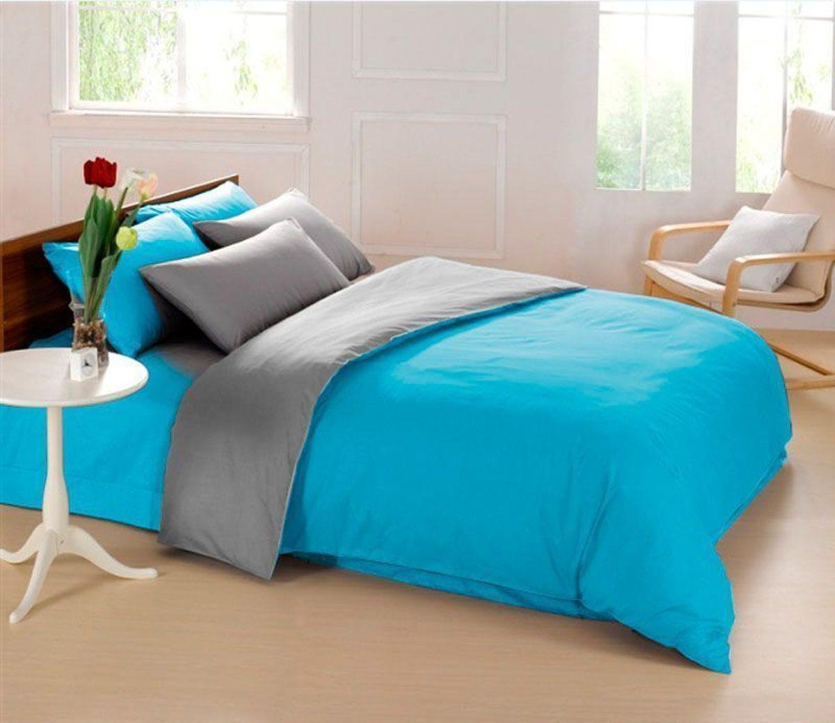 Постельное белье Sleep iX Perfection, семейный, цвет: голубой, серыйpva215425Известно, что цвет напрямую воздействует на психологическое и физическое состояние человека. Специально для наших покупателей мы внесли описание воздействия каждого цвета в комплекты постельного белья Perfection. Голубой – вызывает чувство беззаботности и умиротворения. Способствует нежности и мечтательности, понижению активности и эмоционального напряжения, вызывает ощущение прохлады. Серый – нейтральный цвет. Расслабляет, помогает успокоиться и способствует здоровому сну. Усиливает воздействие соседствующих цветов. Производитель: Sleep iX Материал: Микрофреш (100 г/м2) Состав материала: 100% микрофибра Размер: Семейное (2 пододеял.) Размер пододеяльника: 150х220 см Тип застежки на пододеяльнике: Молния (100 см) Размер простыни: 220х240 (обычная) Размер наволочек: 50х70 и 70х70 (по 2 шт) Тип застежки на наволочках: Клапан (20 см) Упаковка комплекта: Подарочная Коробка Cтрана производства: Китай Расположение цветов на комплекте...