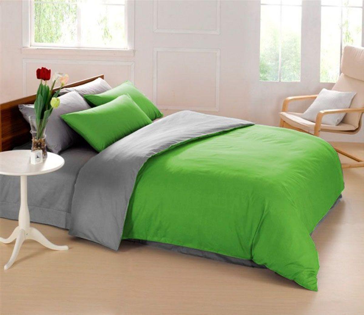 Постельное белье Sleep iX Perfection, семейный, цвет: зеленый, серыйpva215435Известно, что цвет напрямую воздействует на психологическое и физическое состояние человека. Специально для наших покупателей мы внесли описание воздействия каждого цвета в комплекты постельного белья Perfection. Зеленый - успокаивающий, нейтральный, мягкий цвет. Нормализует деятельность сердечно-сосудистой системы, успокаивает сильное сердцебиение, стабилизирует артериальное давление и функции нервной системы. Серый – нейтральный цвет. Расслабляет, помогает успокоиться и способствует здоровому сну. Усиливает воздействие соседствующих цветов. Производитель: Sleep iX Материал: Микрофреш (100 г/м2) Состав материала: 100% микрофибра Размер: Семейное (2 пододеял.) Размер пододеяльника: 150х220 см Тип застежки на пододеяльнике: Молния (100 см) Размер простыни: 220х240 (обычная) Размер наволочек: 50х70 и 70х70 (по 2 шт) Тип застежки на наволочках: Клапан (20 см) Упаковка комплекта: Подарочная Коробка Cтрана производства: Китай Расположение...