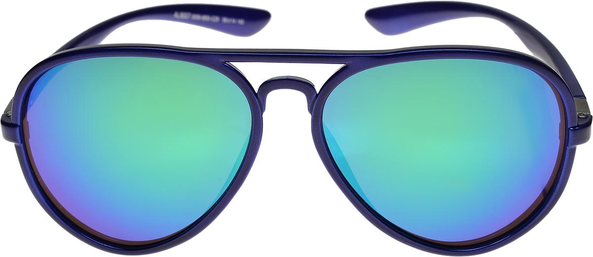 Очки солнцезащитные женские Vittorio Richi, цвет: синий, сиреневый. ОС9007с009-6851-29/17fKF1140Очки солнцезащитные Vittorio Richi это знаменитое итальянское качество и традиционно изысканный дизайн.