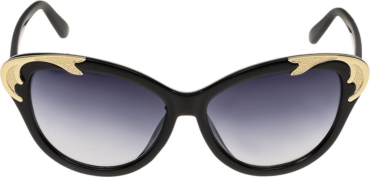 Очки солнцезащитные женские Vittorio Richi, цвет: черный. ОС1600с1/17fFM-849-TRОчки солнцезащитные Vittorio Richi это знаменитое итальянское качество и традиционно изысканный дизайн.