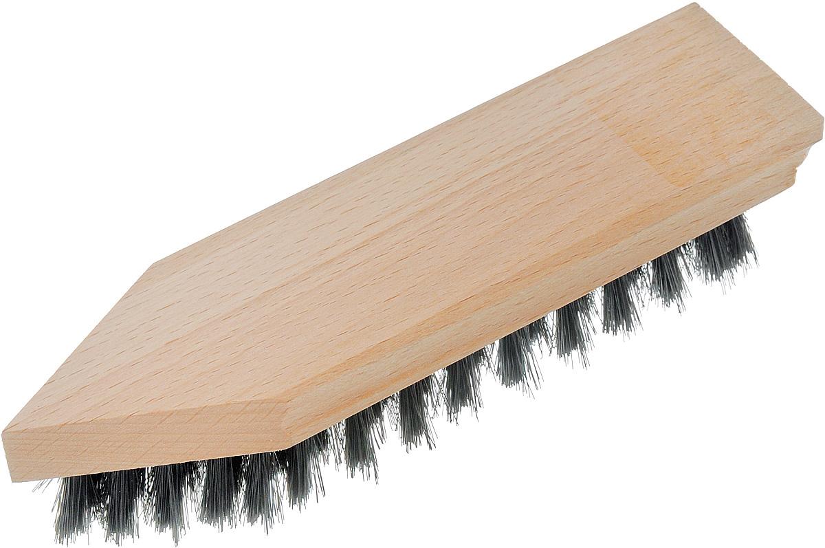 Щетка для обуви Svip Утюжок Мини, 18,5 х 4,5 х 3,5 смSV3168Щетка для обуви Svip Утюжок Мини выполнена из дерева и полимерных материалов. Она предназначена для нанесения крема или последующей финальной полировки обуви. Густой ворс обеспечивает легкое и равномерное нанесение крема на поверхность кожи. Размер щетки: 18,5 х 4,5 х 3,5 см. Длина щетины: 2 см.