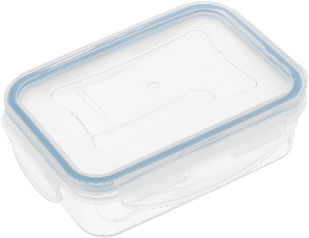 Контейнер Tescoma Freshbox, прямоугольный, 200 млVT-1520(SR)Контейнер Tescoma Freshbox, изготовленный из прочного пластика, отлично подходит для хранения и разогрева блюд. Герметичная крышка имеет силиконовый уплотнитель, пища остается свежей дольше и не протекает при перевозке. Подходит для холодильника, морозильных камер, микроволновой печи и посудомоечной машины.Размер контейнера: 12 х 8,5 х 4 см.