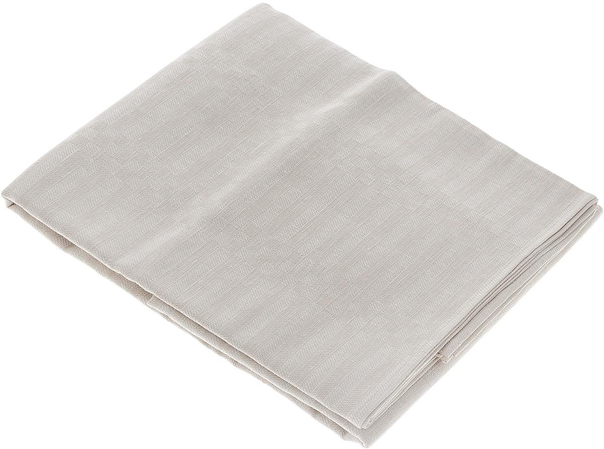 Скатерть Гаврилов-Ямский Лен, прямоугольная, 150 x 180 см. 1со60971со6097Скатерть Гаврилов-Ямский Лен выполнена из 59% льна и 41% хлопка и декорирована жаккардовым рисунком. Данное изделие является незаменимым аксессуаром для сервировки стола. Лен - поистине уникальный, экологически чистый материал. Изделия из льна обладают уникальными потребительскими свойствами. Хлопок представляет собой натуральное волокно, которое получают из созревших плодов такого растения как хлопчатник. Качество хлопка зависит от длины волокна - чем длиннее волокно, тем ткань лучше и качественней. Такая скатерть очень практична и неприхотлива в уходе. Она создаст тепло и уют в вашем доме.