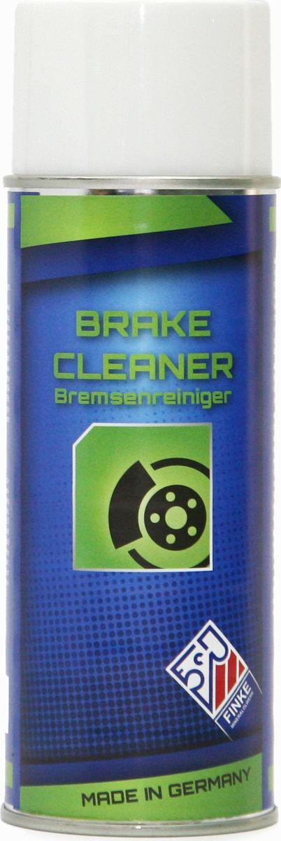 Очиститель тормозов Finke Aviaticon Brake Cleaner, 400 млDAVC150Очиститель тормозов Finke Aviaticon Brake Cleaner - это универсальный обезжириватель для деталей сцепления, тормозов, тормозных колодок, карбюратора, клапанов. Очиститель в виде аэрозоля является экологически чистым, полностью обезжиривает без остатка все металлические предметы, стекло, керамику и дерево. Удаляет трудновыводимые загрязнения от жира, масла, грязи, пыли или аналогичных материалов; остатки клеев и герметиков. Кроме того, Finke AVIATICON Brake Cleaner быстро испаряется, не оставляя следов и не вызывает коррозии. Применение: • Мощный очиститель, идеально подходит для использования на сервисных станциях• Максимальный диапазон использования в автомобилях: эффективен против жиров, масел и других загрязнений тормозов, сцепления, стартера, генератора, двигателя и т.д. • Устраняет влагу и восковые следы на металлических поверхностях. Важно: Перед применением поверхности должны быть тщательно очищены, чтобы обеспечить равномерное распределение и получение однородной пленки из смазочного материала. При распылении баллончик должен находиться в вертикальном положении, а жидкость должна быть распылена тонко и равномерно с расстояния около 30 см. Баллончики должны быть защищены от нагрева более чем 50°С и от прямого солнечного света. Струя не должна быть направлена на горящие или светящиеся объекты. Запрещается вскрывать пустой баллончик, а также сжигать его после использования. Преимущества: • простота использования• эффективно удаляет жир• быстро сохнет• не оставляет следов и разводов