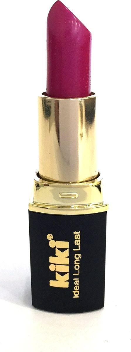Kiki Помада для губ Ideal Long Last 319, 4 гр50030319Мягкая текстура и устойчивая консистенция помады KIKI IDEAL LONG LAST равномерно наносится на губы, не вызывает ощущение сухости. Питает и увлажняет губы, придает насыщенный стойкий цвет. Разнообразная палитра оттенков, в том числе матовая и с перламутровыми цветными эффектами.