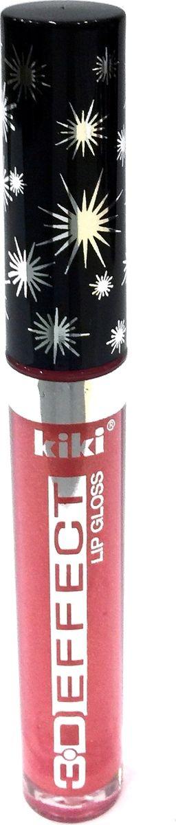 Kiki Жидкая помада -блеск для губ 3D Effect 905, 2,4 мл, 2,4 мл50042905Блеск для губ KIKI 3D Effect зрительно увеличивает губы, делая их выразительными и объемными. Блеск не липнет и великолепно смотрится на губах. Ухаживающие компоненты эффективно увлажняют и питают губы, заботясь об их здоровье и красоте.