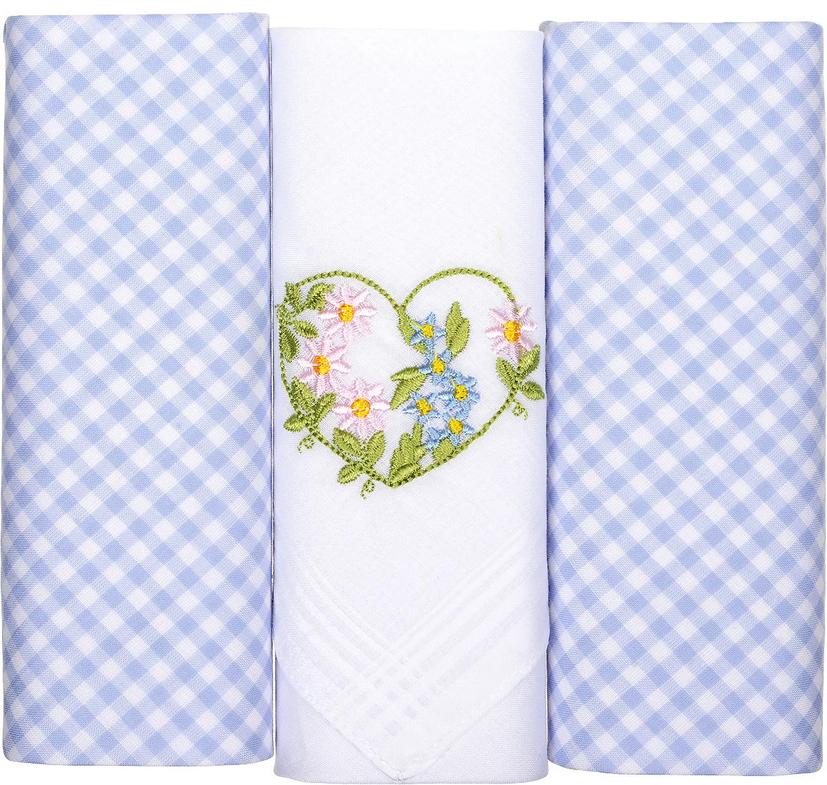 Платок носовой женский Zlata Korunka, цвет: белый, сиреневый, 3 шт. 90330-1. Размер 28 см х 28 см90330-1Небольшой женский носовой платок Zlata Korunka изготовлен из высококачественного натурального хлопка, благодаря чему приятен в использовании, хорошо стирается, не садится и отлично впитывает влагу. Практичный и изящный носовой платок будет незаменим в повседневной жизни любого современного человека. Такой платок послужит стильным аксессуаром и подчеркнет ваше превосходное чувство вкуса. В комплекте 3 платка.